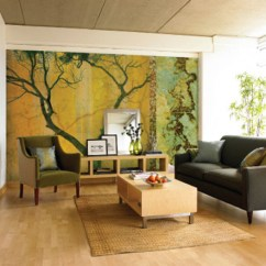 Wall Mural Ideas For Living Room 5th Wheel With Front 15 Refreshing Your