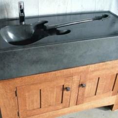 Corner Kitchen Sink Brick Backsplash In 18 Unusual But Cool Design Ideas