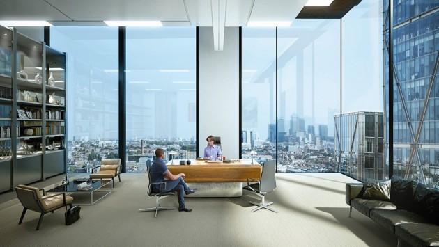15 Delightful Interiors With FloorToCeiling Windows
