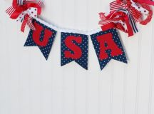 17 Creative Handmade 4th of July Banners As Patriotic ...