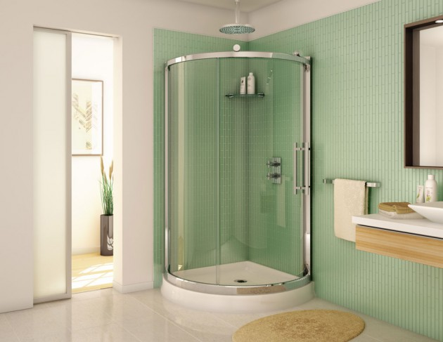 15 SpaceSaving Corner Shower Designs For Every Bathroom