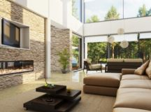 Stone Wall In Your Living Room- 17 Brilliant Ideas