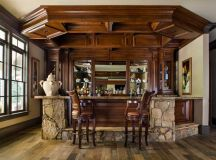 15 Astonishing Traditional Home Bars For Your Daily ...