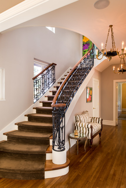 18 Bespoke Traditional Staircase Designs That Will Connect