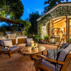Outdoor Kitchen Pavilion Designs Used Cabinets Chicago 18 Charming Mediterranean Patio To Make Your ...