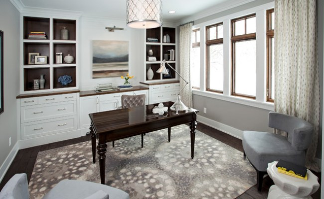 20 Outstanding Traditional Home Office Designs For A More