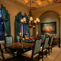 4 Chair Dining Table Designs Balancing Ball 20 Sophisticated Mediterranean Room To Show You What Luxury Is Like