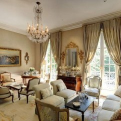 French Living Room Design Ideas Printed Chairs 18 Impressive