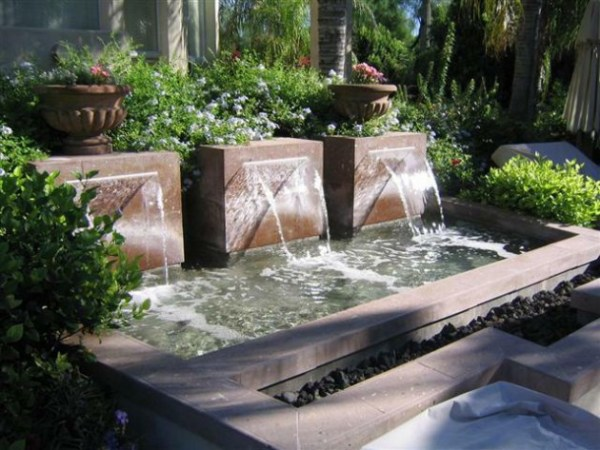 inexpensive unique water features