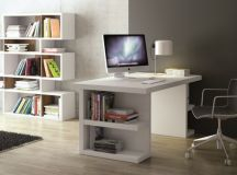 17 White Desk Designs For Your Elegant Home Office