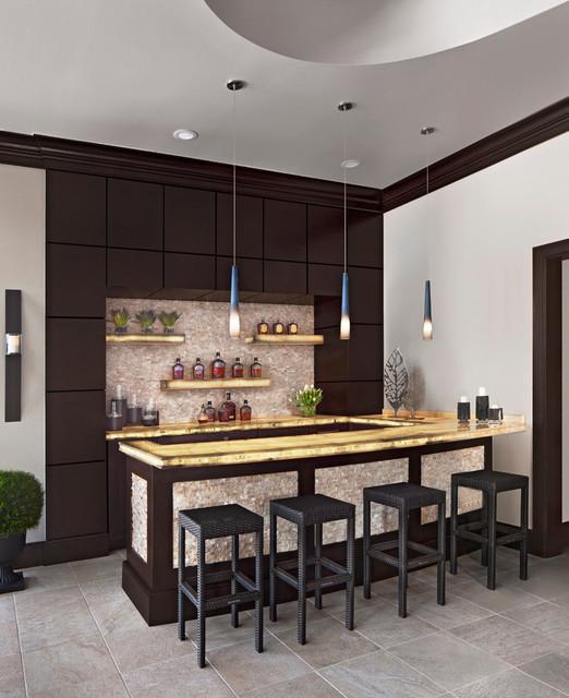 17 Incredible Contemporary Home Bar Designs Youre Going
