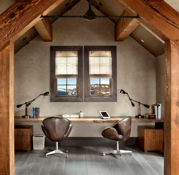 rustic home office design 17 Inspiring Rustic Home Office Designs To Motivate You