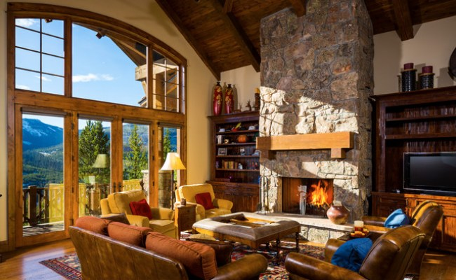 17 Mind Blowing Rustic Living Room Designs For The
