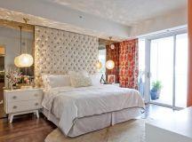 17 Beautiful Bedrooms With Floor To Ceiling Headboard