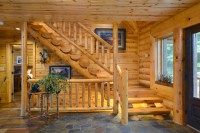 20 Uplifting Rustic Staircase Designs That You Can't Dislike
