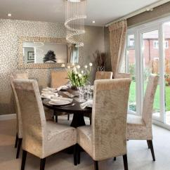 Fancy Sofa Sets Taupe Crushed Velvet 15 Brilliant Wallpaper Ideas For Your Sophisticated Dining ...