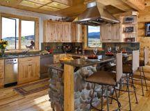 19 Impressive Stone Kitchen Designs For Rustic Charm In ...
