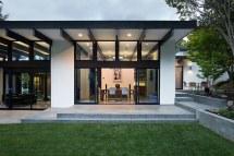 Mid Century Modern Home Plans Atrium