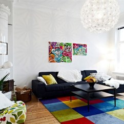 Bright Colored Living Room Rugs Decorate Small Narrow 2 18 Fascinating Colorful To Spice Up Your Home Decor