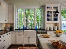 19 Wonderful Kitchen Sink Designs With Amazing View