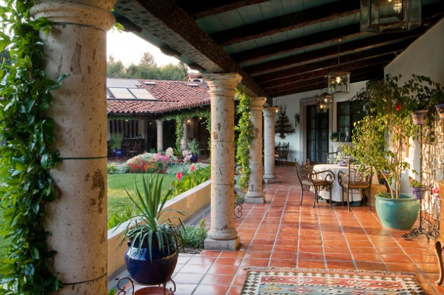 15 Stunning Mediterranean Porch Designs For The Ultimate
