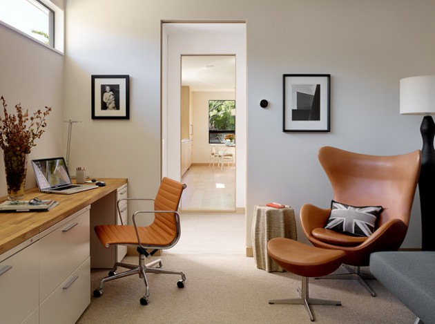 16 Spectacular MidCentury Modern Home Office Designs For