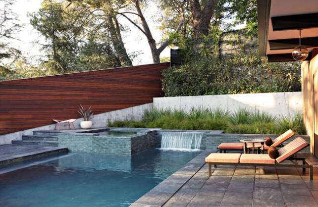 18 Outstanding MidCentury Modern Swimming Pool Designs