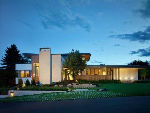 18 Spectacular Mid Century Modern Exterior Designs That