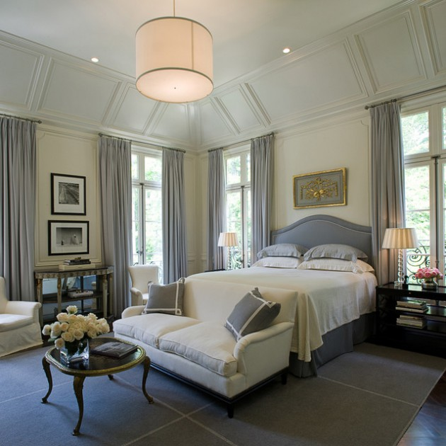 21 Lovely Traditional Bedrooms For A Warm  Cozy Atmosphere