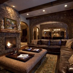 Pictures Of Living Rooms With Stone Fireplaces Modern Light Fixtures For Room 19 Stunning Rustic Charming Fireplace