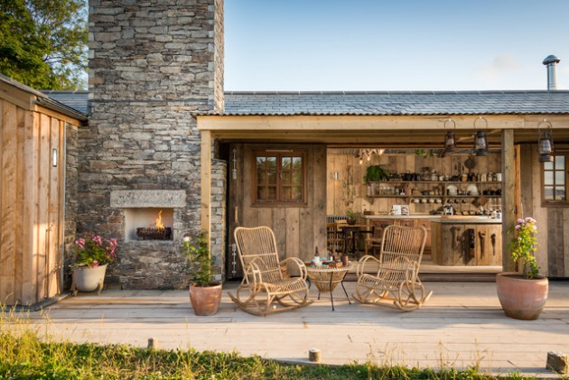 16 wicked rustic patio ideas for a