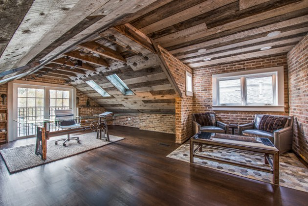 17 Inspiring Rustic Home Office  Study Designs That Will