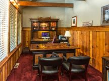 17 Inspiring Rustic Home Office & Study Designs That Will ...