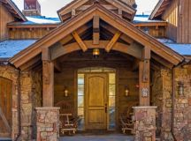 20 Fantastic Rustic Entrance Designs For A Pleasant ...