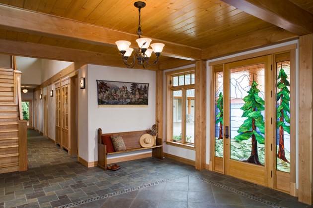 20 Fantastic Rustic Entrance Designs For A Pleasant
