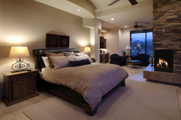 Fall Themed Wallpaper 14 Gorgeous Master Bedroom Designs With Beautiful Fireplace