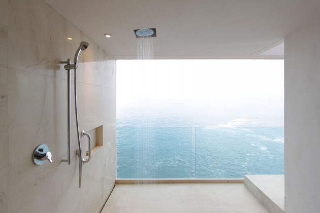 10 Astonishing Bathrooms With Most Impressive Ocean View