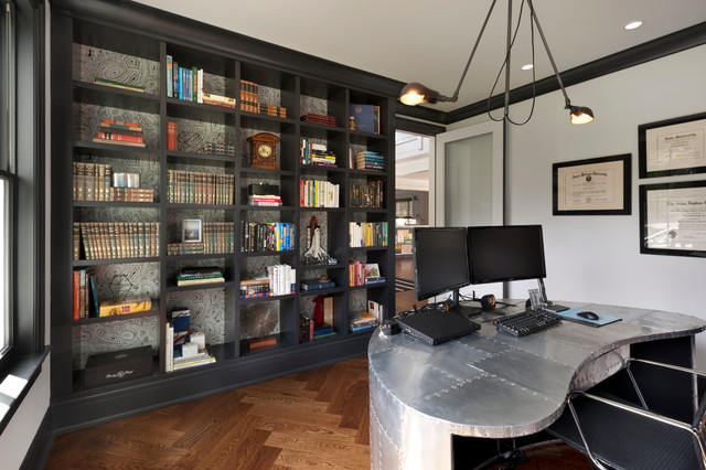18 Exceptional Industrial Home Office Designs That Will
