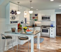 16 Smart Ideas To Decorate Small Open Concept Kitchen