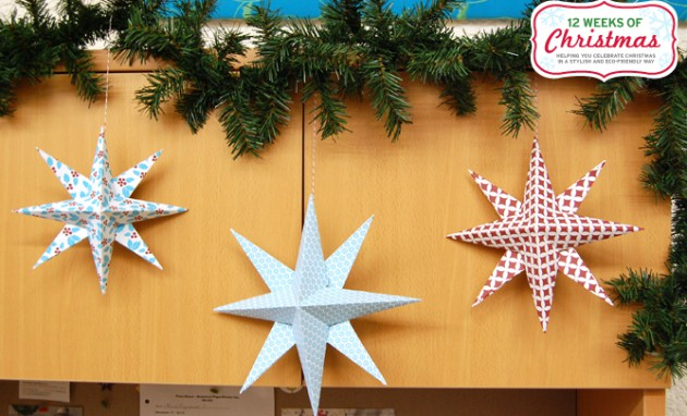 17 Last Minute  Inexpensive DIY Hanging Christmas Decorations