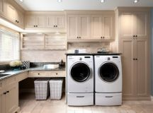 17 L-Shaped Laundry Designs For Better Use Of The Space ...