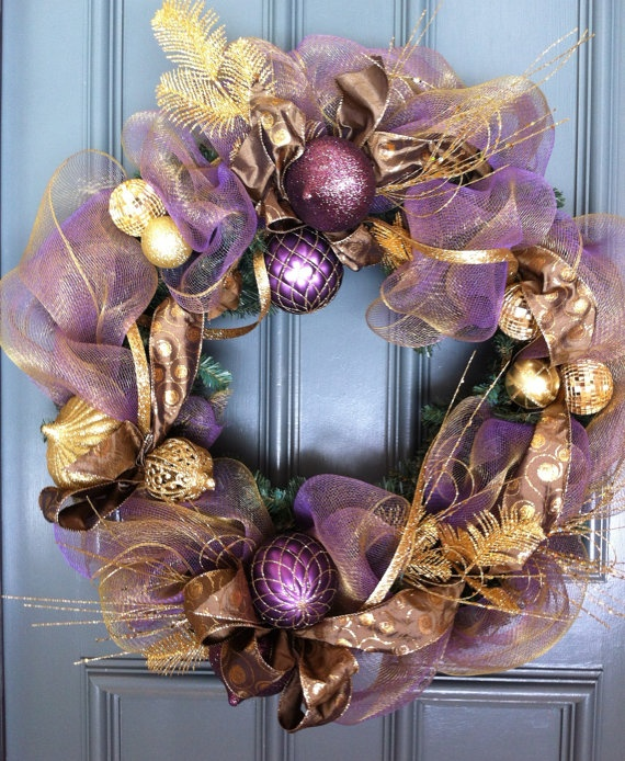 19 Amazingly Gorgeous Purple Christmas Decorations To Add