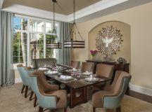 15 Chic Transitional Dining Room Interior Designs Full Of ...