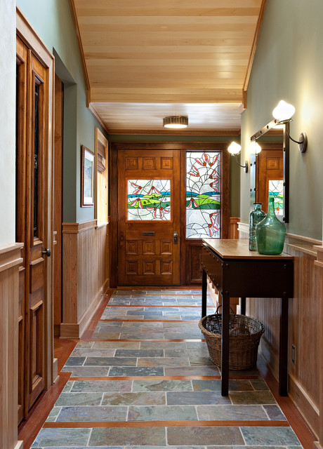 18 Attractive Eclectic Entry Designs That Will Always