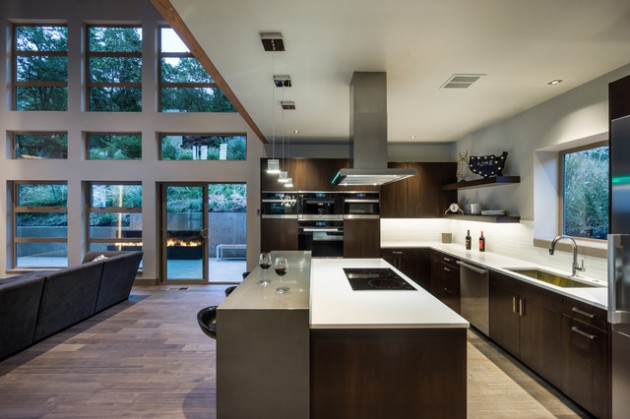 17 Beautiful Open Concept Kitchen Designs In Modern Style