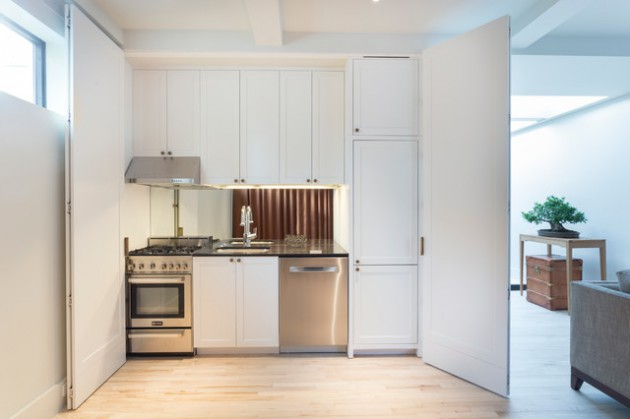 17 Charming SingleWall Kitchen Designs That Surely Will