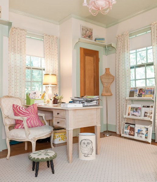 shabby chic home office ideas 15 Uplifting Shabby Chic Home Office Designs That Will Motivate You To Do More