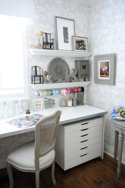 shabby chic home office ideas 15 Uplifting Shabby Chic Home Office Designs That Will