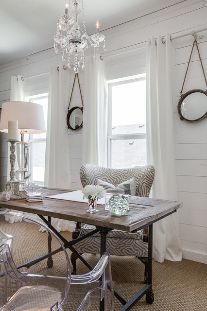 15 Uplifting Shabby Chic Home Office Designs That Will