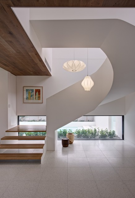 25 Brilliant Modern Staircase Design Ideas To Draw